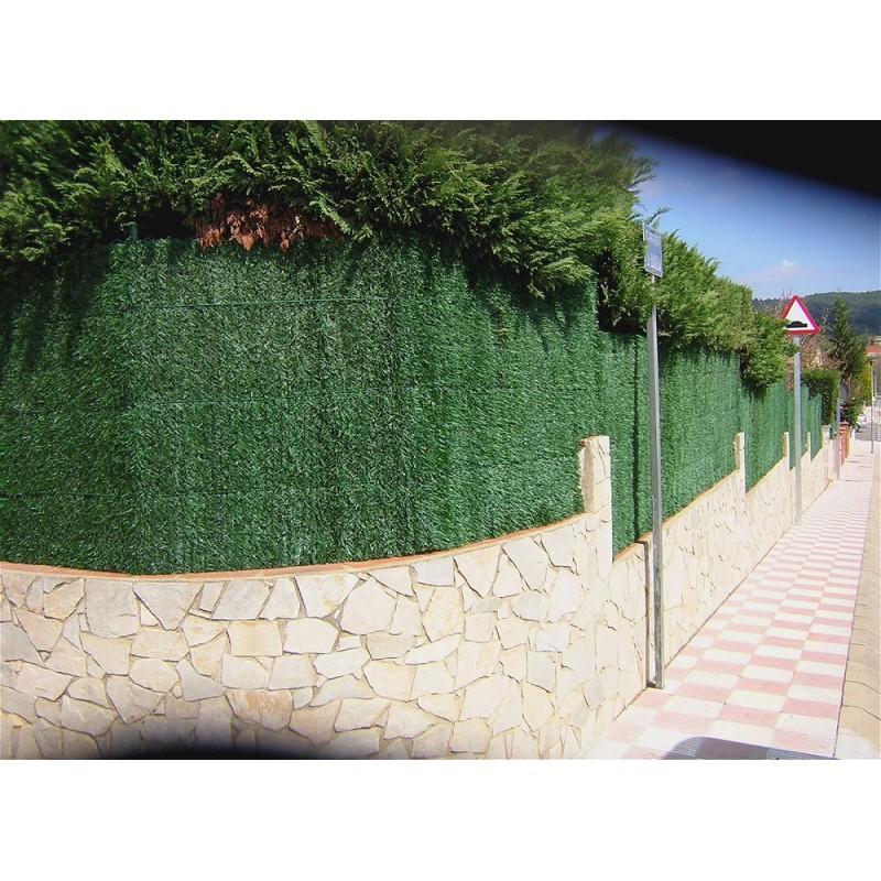 Rollos de seto artificial para vallas y ocultaciones for Seto redondo artificial