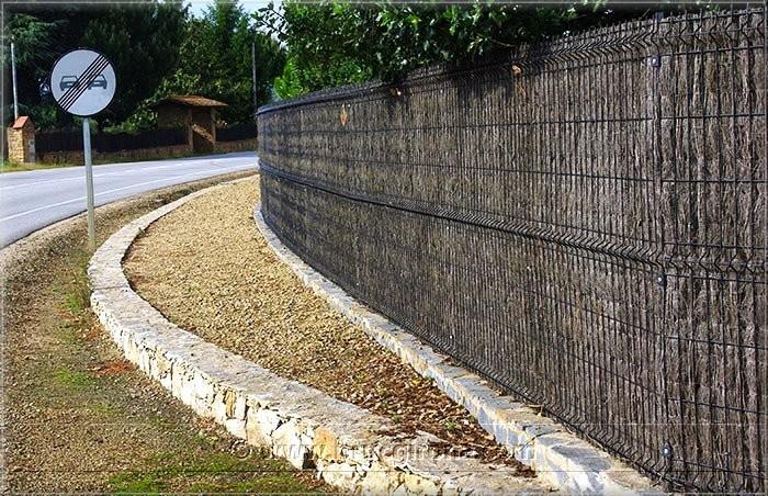 Rotllos de bruc tienda bruc girona brezo natural y seto artificial para vallas - Ocultacion para jardin ...