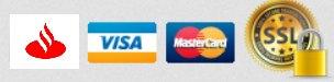 Pagos con tarjeta de crédito Bruc Girona Shop