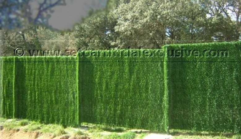 Seto Artificial para vallas de jardín